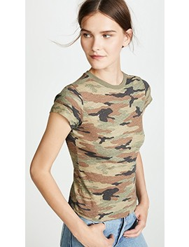Camo Slim Tee by Re/Done