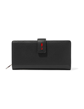 Paloma Textured Leather Wallet by Christian Louboutin
