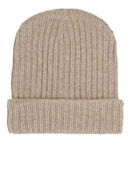 Ribbed Cashmere Hat by The Elder Statesman