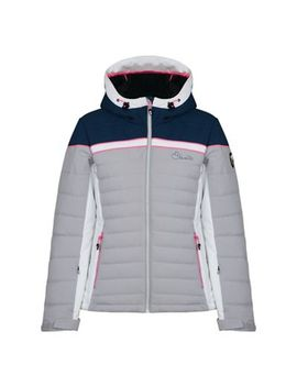 Dare 2 B   Silver 'novela' Waterproof Ski Jacket by Dare 2 B