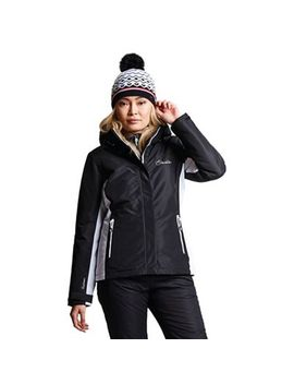 Dare 2 B   Black 'prosperity' Waterproof Ski Jacket by Dare 2 B