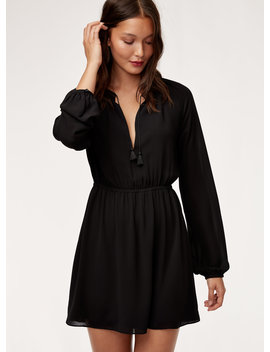 Puff Sleeve Dress by Talula