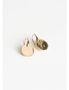 Circle Charm Hanging Earrings by & Other Stories