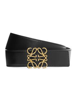 Embellished Leather Belt by Loewe