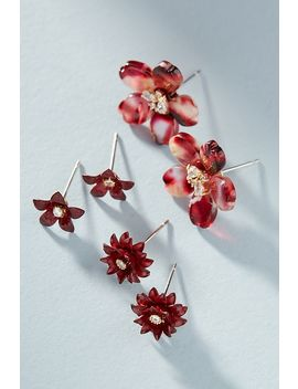 Blossom Earring Set by Anthropologie