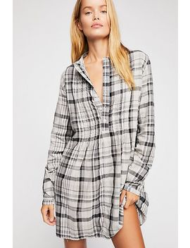 Yoko Plaid Tunic by Free People