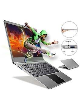 Fenniu Ultra Thin 14 Inch Laptop Computer Intel Apollo Lake Celeron N3450 4 Gb Ram 64 Gb E Mmc Supports M.2 Ssd Upgrade(Up To 512 Gb), Usb 3.0, Bluetooth, Type C, Webcam, Windows 10 Pc, Gray by Fenniu