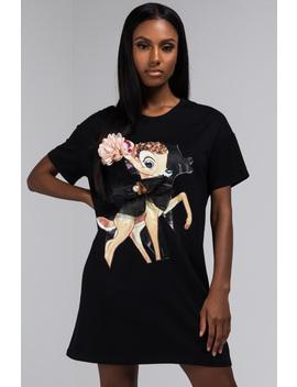 Make Me Pretty Bambi Tshirt Dress by Akira
