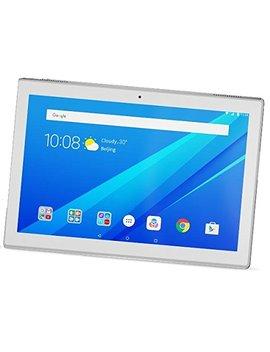 "Lenovo Tab4 10   Tablet De 10.1"" (Qualcomm1.4 G Hz, Ram De 2 Gb, Memoria Interna De 16 Gb, Android 7.0) Color Blanco Polar by Lenovo"