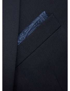 Jacquard Pocket Handkerchief by Mango