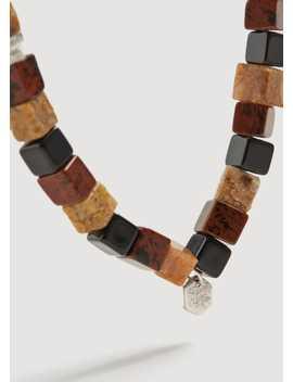 Stone Beads Bracelet by Mango