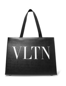 Valentino Garavani Printed Leather Tote by Valentino