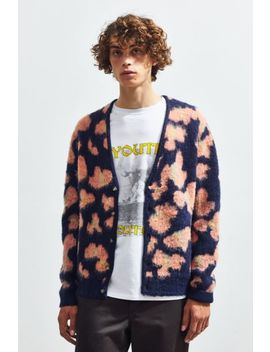 Uo Brushed Pattern Cardigan by Urban Outfitters