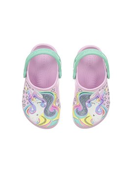 Fun Lab Unicorn Clog (Toddler/Little Kid) by Crocs Kids