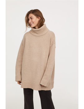 Pullover Collo Alto Misto Lana by H&M