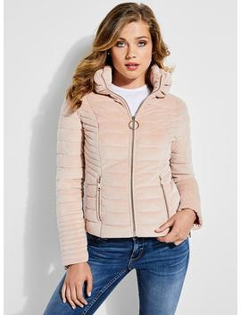 Allegra Reversible Puffer Jacket by Guess