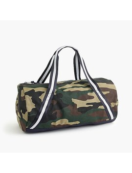 Kids' Overnight Bag In Camo by J.Crew