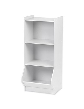 Iris® Storage Shelf In White by Bed Bath And Beyond