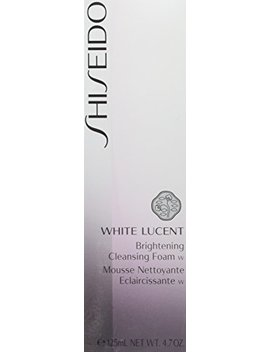 Shiseido White Lucent Brightening Cleansing Foam For Unisex, 4.7 Oz by Shiseido