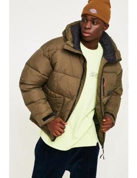 Urban Outfitters – Gesteppte FunktionsjackeIn Khaki by Urban Outfitters Shoppen