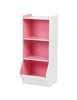 Iris® Children's Storage Shelf In White And Pink by Bed Bath And Beyond