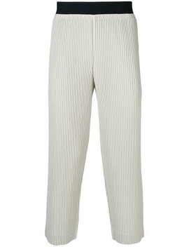 Pleated Track Pants by Homme Plissé Issey Miyake