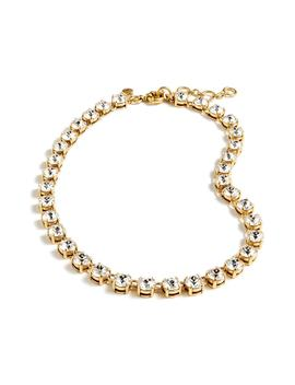 Swarovski Crystal Dot Necklace by J.Crew