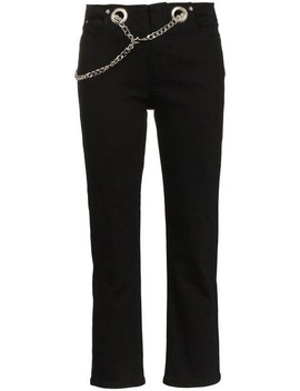 Tommy Belted Cotton Trousers by Miaou