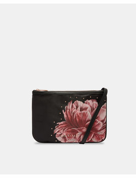 Tranquility Double Pouch Cross Body Bag by Ted Baker