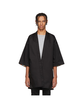 Ssense Exclusive Black Haori Shirt by Naked & Famous Denim