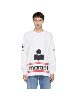 White Gianni Long Sleeve T Shirt by Isabel Marant
