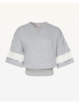 Jxjc Juicy Tape Logo Terry Pullover by Juicy Couture