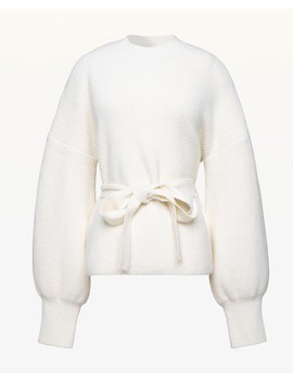 Tie Waist Easy Pullover by Juicy Couture
