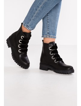Metallic Cleated Lace Up   Veterboots by Tommy Jeans