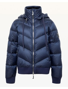 Royal Navy Hooded Down Puffer Jacket by Juicy Couture