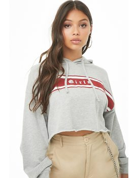 Girls Graphic Crop Top by Forever 21