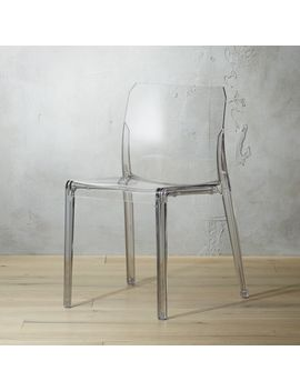 Bolla Acrylic Dining Chair by Crate&Barrel