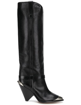 Lafsten Thigh High Boots by Isabel Marant