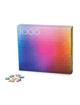 1000 Colors Puzzle by Clemens Habicht