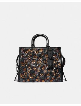 Rogue With Leather Sequins by Coach