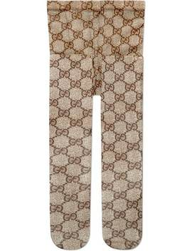 Gg Pattern Tights by Gucci