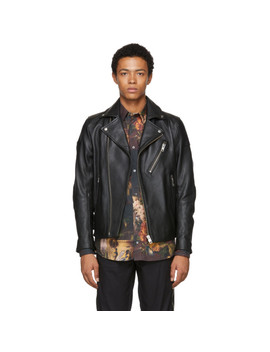 Black L Krampis Jacket by Diesel