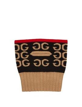 Gg Intarsia Wool Balaclava by Gucci