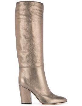 Virginia Metallic Boots by Sergio Rossi