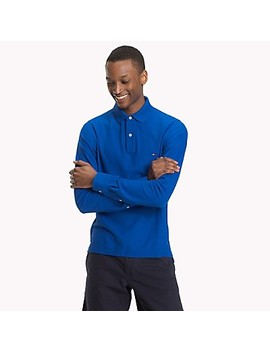Long Sleeve Polo by Tommy Hilfiger