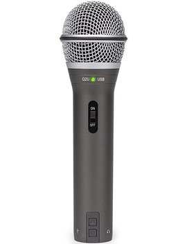 Samson Q2 U Handheld Dynamic Usb Microphone Recording And Podcasting Pack (Black) by Samson Technologies