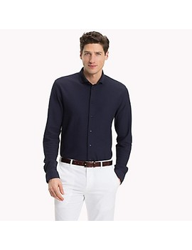 Button Down Slim Fit Polo by Tommy Hilfiger