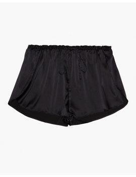 The Great Eros® Silk Ereni High Waisted Shorts by Madewell