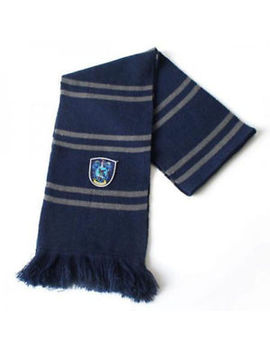 Harry Potter Ravenclaw Thicken Wool Scarf Soft Warm Costume Cosplay Us Seller by Ebay Seller