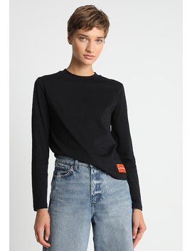 Monogram Logolong Sleeve Tee   Long Sleeved Top by Calvin Klein Jeans